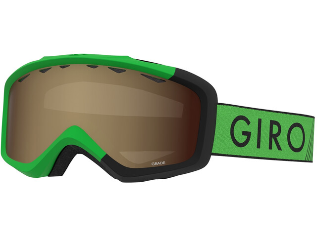 Giro Grade Gafas Niños, bright green/black zoom/amber rose